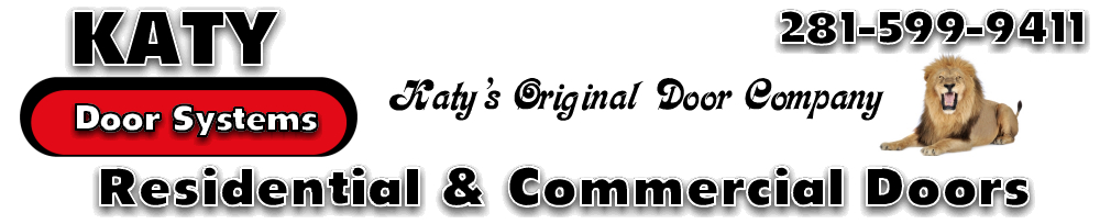 Katy Door Systems, Residential And Commercial Doors, 281 599 9411